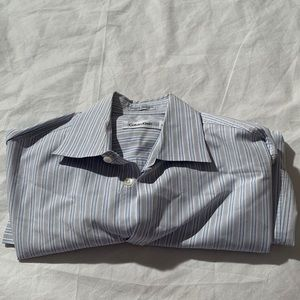 Calvin Klein Size S Striped Long Sleeve